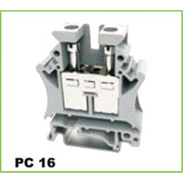16mm2 Din Rail Screw Terminal Block