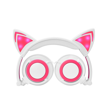 BSCI Factory Cat Ear Headphone dalam Stok