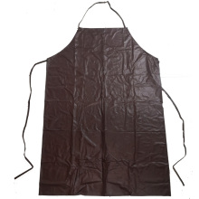 Customized Thick Brown Waterproof PVC Apron