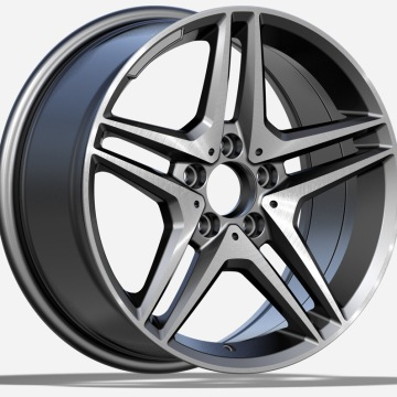 20 Inch 5x112 Mercedes Replica Wheel Gunmetal