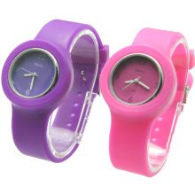 2016 New Popular Child Girls Silicone Strap Quartz Watch