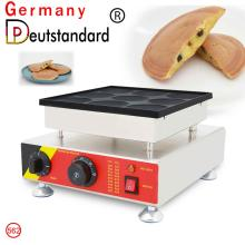 Electric 9 holes Big size 80mm Pancake Machine