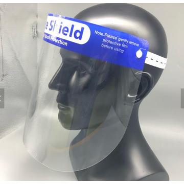 Medical faceshield against virus protective mask visor