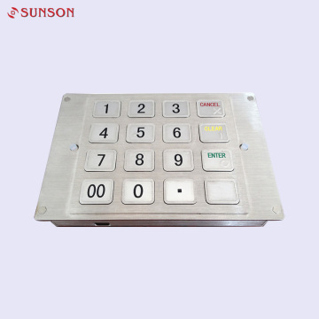 OEM & ODM ATM Encrypting Pin Pad Keyboard​