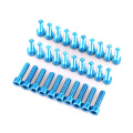 Hot Sale Aluminum Fasteners Socket Grub Screw