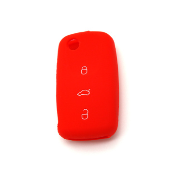 Hot design vw silicone car key cover