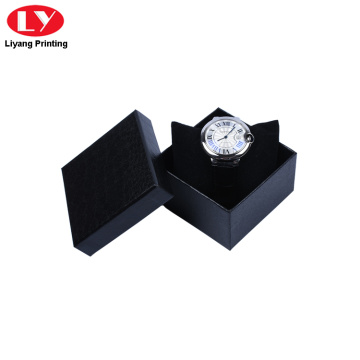 Black color Watches Box with pillow insert
