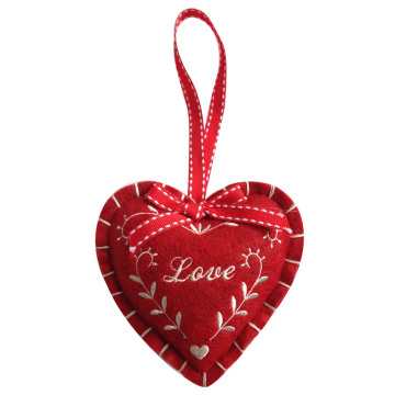Valentine's day sweet heart shape hanging pendant