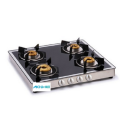 Gas Cooktop Forged Brass Burners Mirror Finish