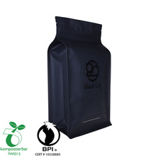 Food Grade Flat Bottom Eco Bag With Zipper