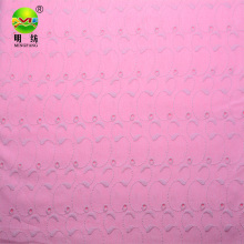 knit eyelet embroidery fabric