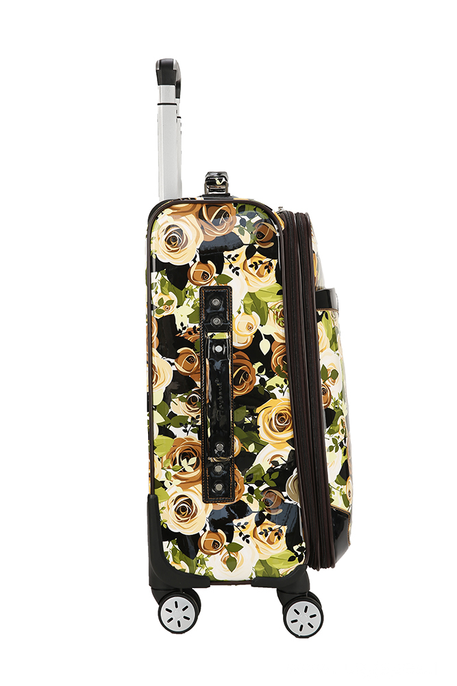 Printed Carry-on Spinner Luggage