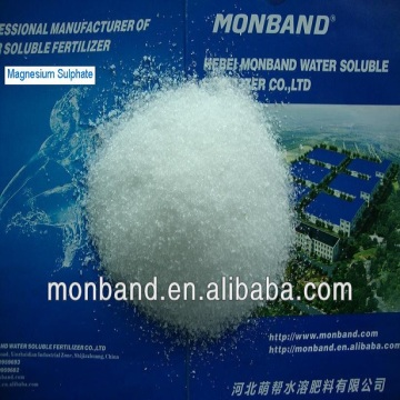 7-water magnesium sulphate crystal