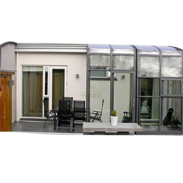 Sun House Polycarbonate Sunroom With Retractable Roof