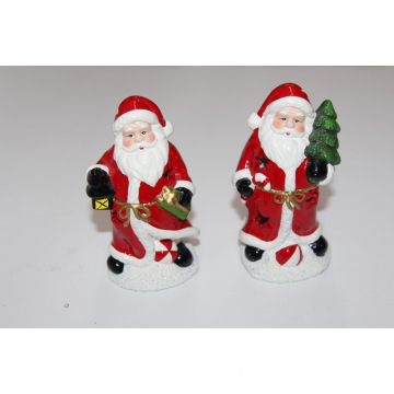 12CM popular LED mini xmas ceramic 2020