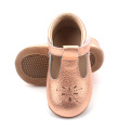 Newborn Hollow Out Christmas Baby Dress Shoes