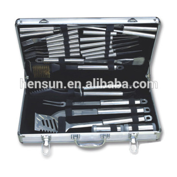 Portable Stainless Steel Barbecue Tools Kit Set