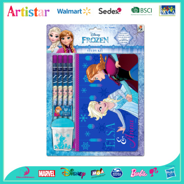 Disney Frozen study kit blister card set