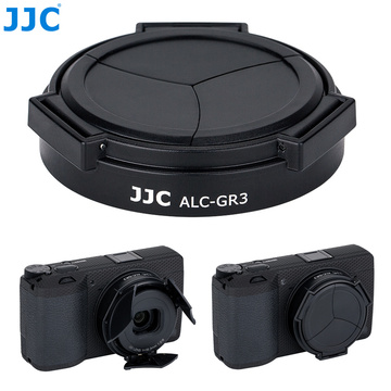 JJC Auto Open and Close Lens Cap Protector for Ricoh GR III GRIII GR3 Camera Automatic Lens Cap Holder Cover Lens Accessories