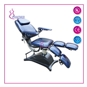 Electric adjustable hydraulic beauty bed