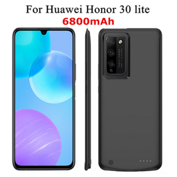 6800mah Power Bank Smart Phone Battery Case for Huawei Honor 30 Lite Battery Case New Charger Case for Huawei Honor 30lite