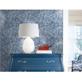 Blue Classic Glass Mosaic Tiles For Living Room