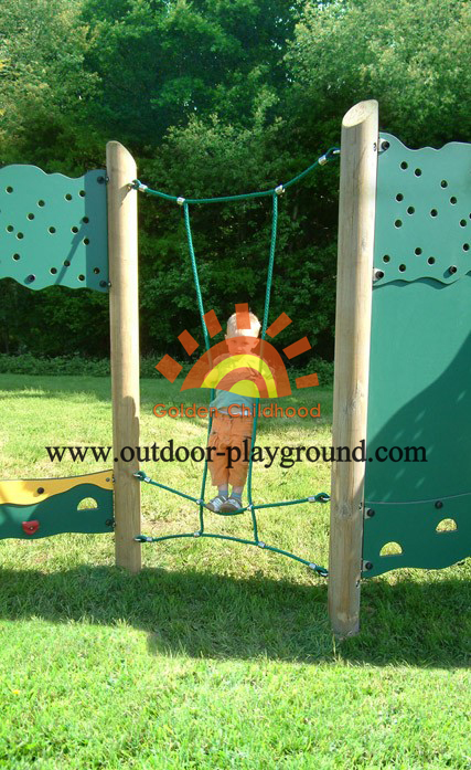 panel climber outdoor playground structure for kids