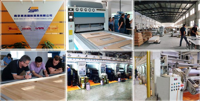 cabinet doors pvc film factory