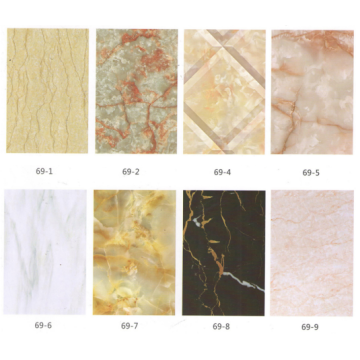 PVC Marbling Design Wall Panels