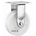 5  inch Stainless steel bracket  heavy duty PA casters without  brakes