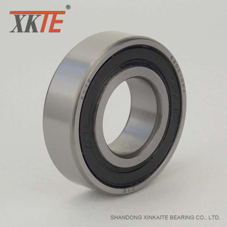 Rubber Seals Ball Bearing For Metal Conveyor Rollers