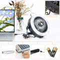 AAA Battery Operated USB Ceiling Fan Camping Light