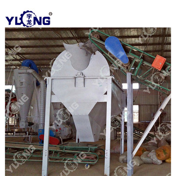 Pellet Making Machinery with Rotary Screener