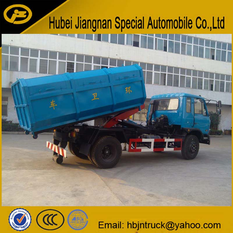 Container Lift Garbage Truck