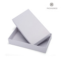 White matte luxury lid and base apparel box