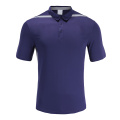 Mens Dry Fit Soccer Wear Polo Shirt Purple