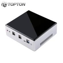 Topton New Intel Core i7 10810U i7 10710U Mini PC Barebone Windows TV BOX Dual Lan DP HDMI Dual Band WIFI Desktop Mini Computer