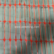 plastic orange safety waring net