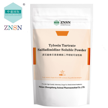 ZNSN Tylosin Tartrate 10% 20% 50% Soluble Powder