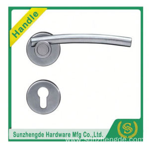 SZD SLH-027SS Customize High Quality Encoder Push Stainless Steel Lever Door Pull Handle