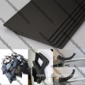 400X500X2.0mm 3K twill matte full carbon fiber sheet
