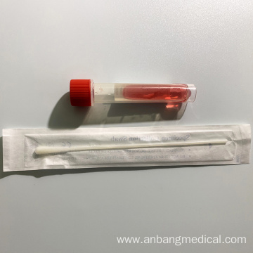 Medical Disposable Single-use Virus Sampling Tubes