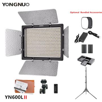 YONGNUO YN600L II Camera Photo Photography lamp 3200-5500k LED Video fill Light for makeup TikTok Optional with battery tripod