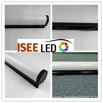 Black aluminium base 16Pixels DMX LED tubes