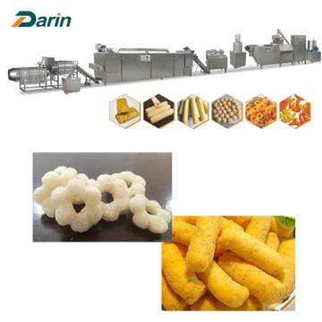 Stainless Steel Material Puffed Snacks Processing Line