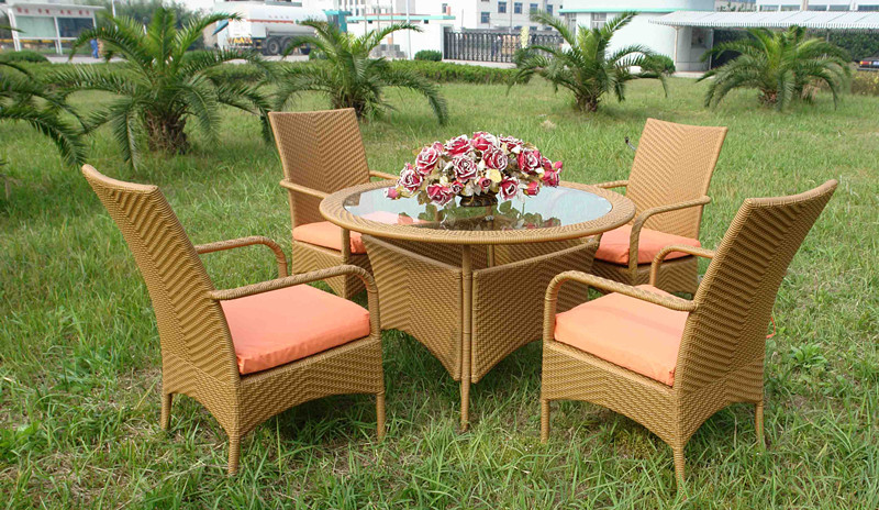 Rattan weaving garden furniture