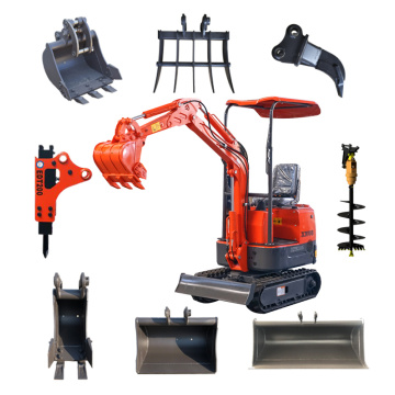 XN08 mini excavator from Rhinoceros factory