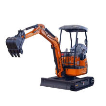 Mini escavadeira Rinoceronte HX20 Full Hydraulic Digger