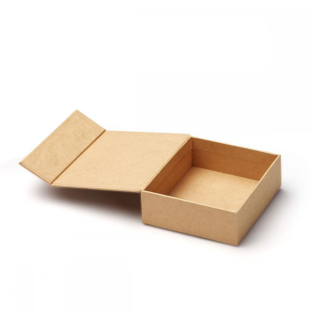 Recycle Brown Kraft Paper Cosmetic Gift Box