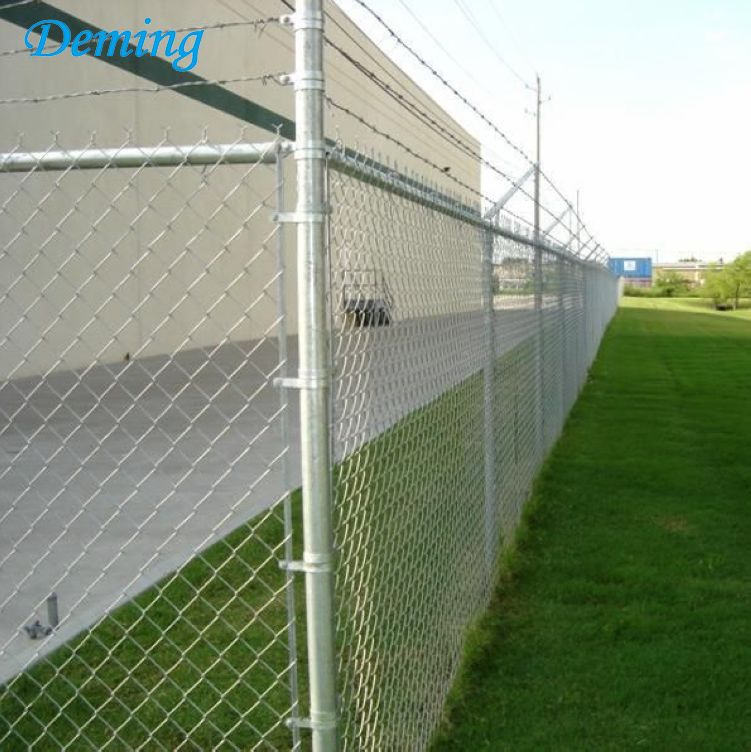 Anti -Climb Powder Coated Galvanized Airport Fence